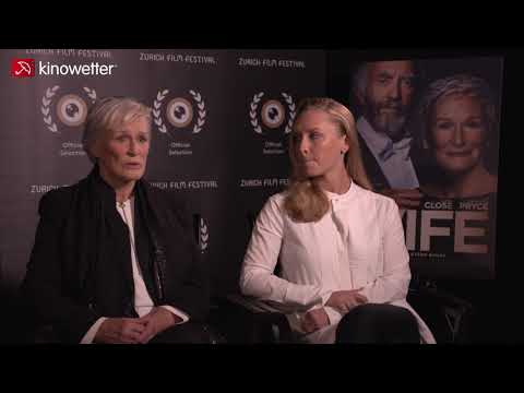 Glenn Close & Annie Starke THE WIFE