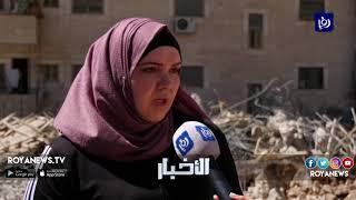 الاحتلال يهدم مبنى قيد الإنشاء تابعاً لمدرسة الرازي في مخيم شعفاط - (19-3-2019)