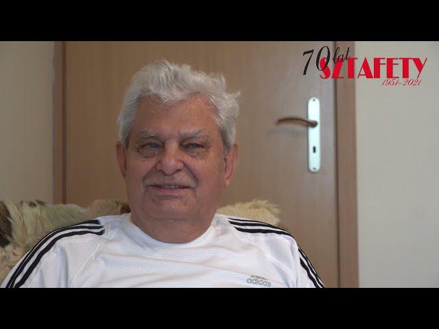 """70 lat """"Sztafety"""" - Franciszek Gębowiś"""
