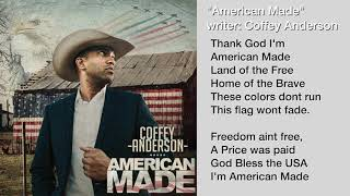 Coffey Anderson American Made