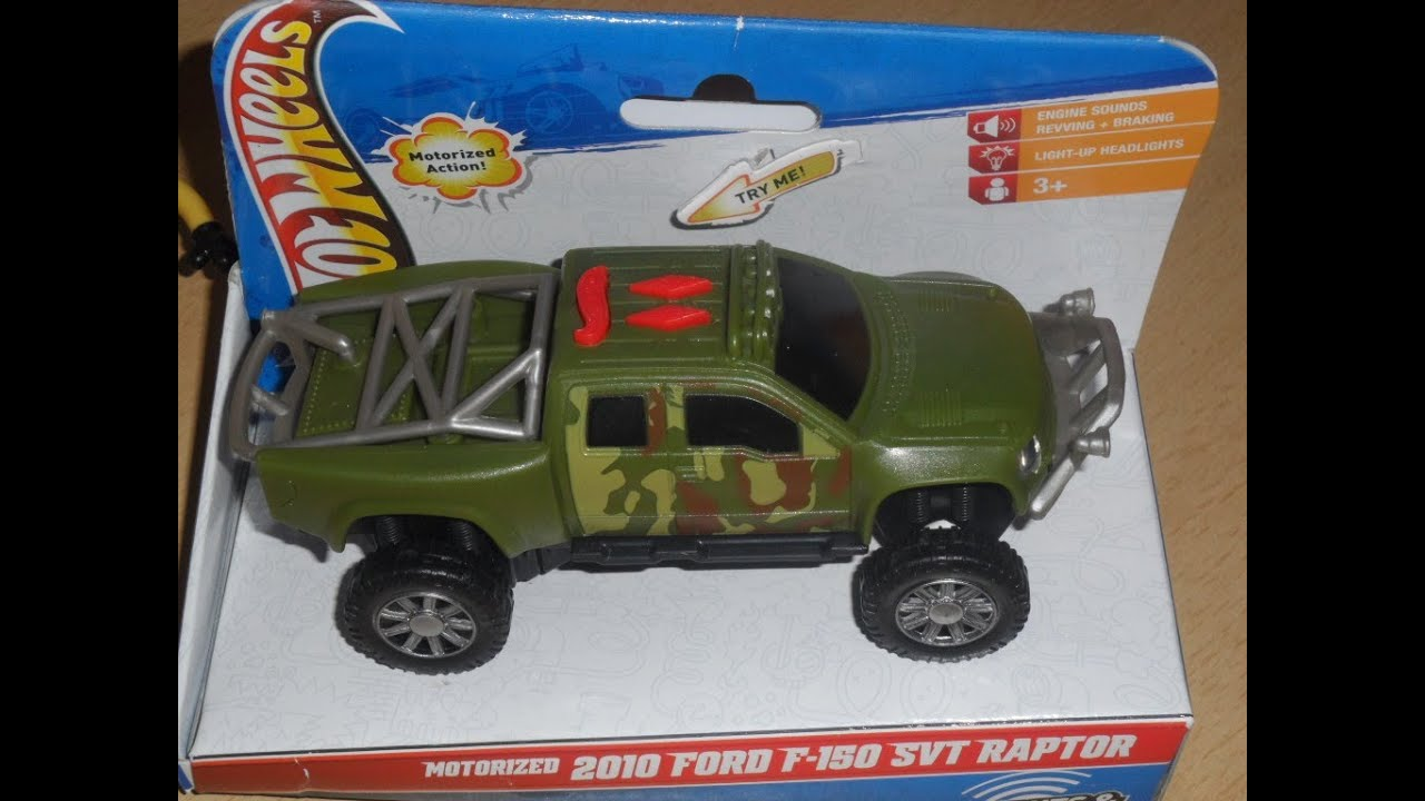 Overview of HOT WHEELS MOTORIZED 2012 FORD F-150 SVT SUV ...