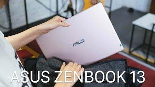 ASUS ZenBook 13: Laptop siêu di động cho cuộc đời thêm nhẹ nhàng