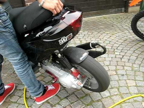 piaggio fly stage 6 racing 70cc // tuned - youtube