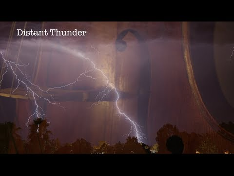 """Distant Thunder"" Low, Dark Cello Music With Rain And Thunder FX"