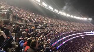 Gillette Stadium crowd reacts to Danny Amendola touchdown in Patriots AFC Championship win