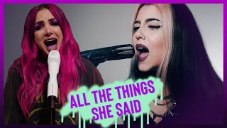 Download t.A.T.u. - All The Things She Said (Violet Orlandi ft Halocene COVER)