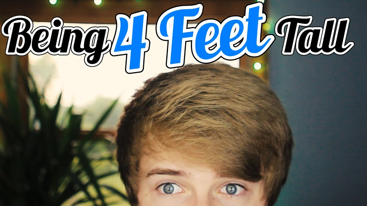 BEING 4 FEET TALL - YouTube
