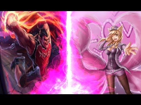 Mudjaco - DunkMaster Darius TOP vs Popstar Ahri League of Legends LoL (4K Quality)