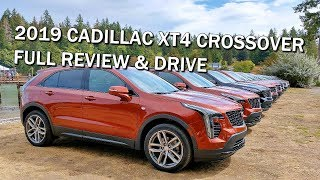 ROAD TRIP in the 2019 CADILLAC XT4 CROSSOVER - FULL REVIEW