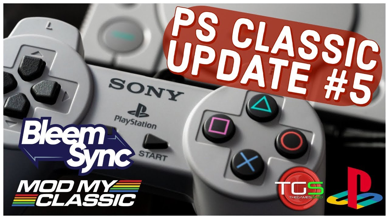 PS Classic Update #5 - Bleemsync 1 0 1 and more!