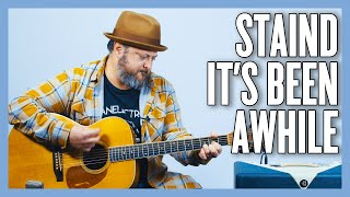 Staind It's Been Awhile Guitar Lesson + Tutorial