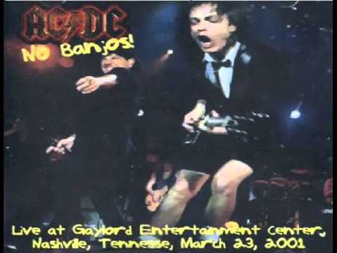 AC/DC [March 23rd 2001] Gaylord Entertainment Center, Nashville, TN {Live Audio}