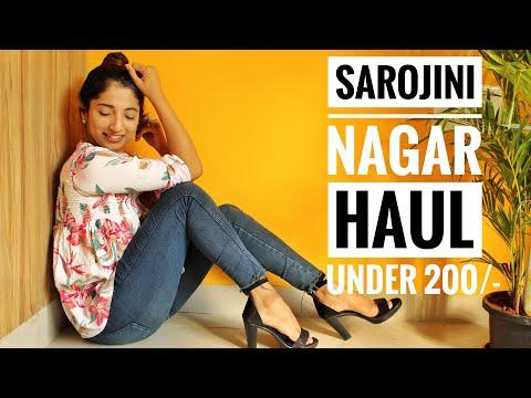 Sarojini Nagar Haul|Under 200/-|Akanksha Dubey
