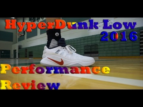 b73154c52fbe HyperDunk Low 2016 Performance Review - YouTube