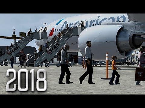 New Flight Simulator 2018 In 4K   Spectacular Realism   P3D 4.3