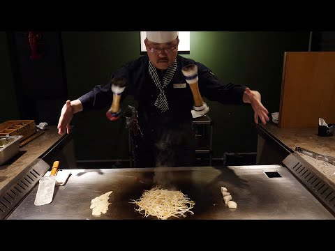 한국에 몇없는 철판 스테이크 달인 / amazing skill! teppanyaki steak master / korean food