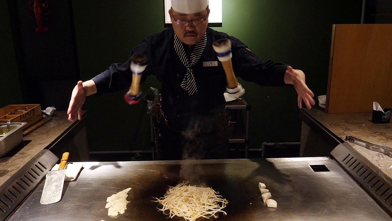 한국에 몇없는 철판 스테이크 달인 / amazing skill! teppanyaki steak master / korean food