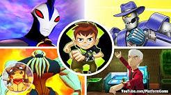 Boss Fights of All Ben 10 Games (All Boss Battles) [1080p] No commentary
