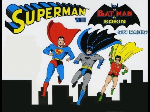"Batman on ""The Adventures of Superman"" Radio Show (1945)"