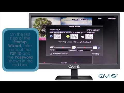 How to setup your Qvis P2P remote monitoring connection