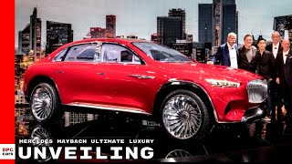 Mercedes Maybach SUV Ultimate Luxury Unveiling