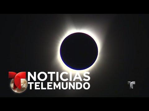 EN VIVO: Sigue la transmisión del eclipse solar en EEUU | Noticias | Noticias Telemundo