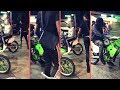 Meek Mill Sick When He Runs Into A Pack Of Riders In The Hood and Cant Ride His Bike Gets In His Car
