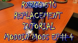 RX200 510 PIN REPLACEMENT TUTORIAL | MODDING MODS EPISODE #4| DAVE GEE | ELECTRIC REVIEWS