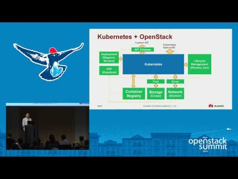 Multi-Tenancy Kubernetes Container Cluster with OpenStack