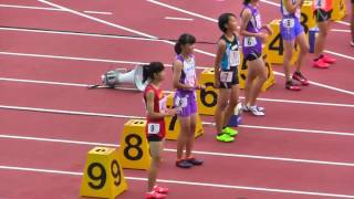 H29年度 学校総合 埼玉県大会 中学2年女子100m決勝 thumbnail