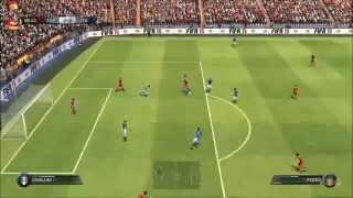 FIFA 15 - Spain vs Italy Gameplay [HD]