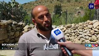 مستوطنون يقتحمون منطقة حرشا قرب مدينة رام الله المحتلة - (15-4-2018)