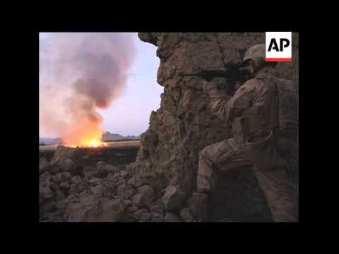 US marines engage Taliban fighters in close combat in southern Afghanistan