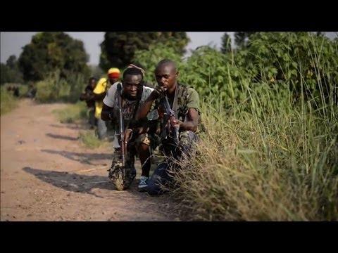 Christian anti-balaka militia trains in Bangui