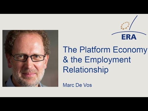 The Platform Economy & the Employment Relationship