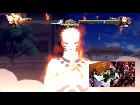 Naruto Shippuden Ultimate Ninja Storm 4 - Gamescom Demo Gameplay #9