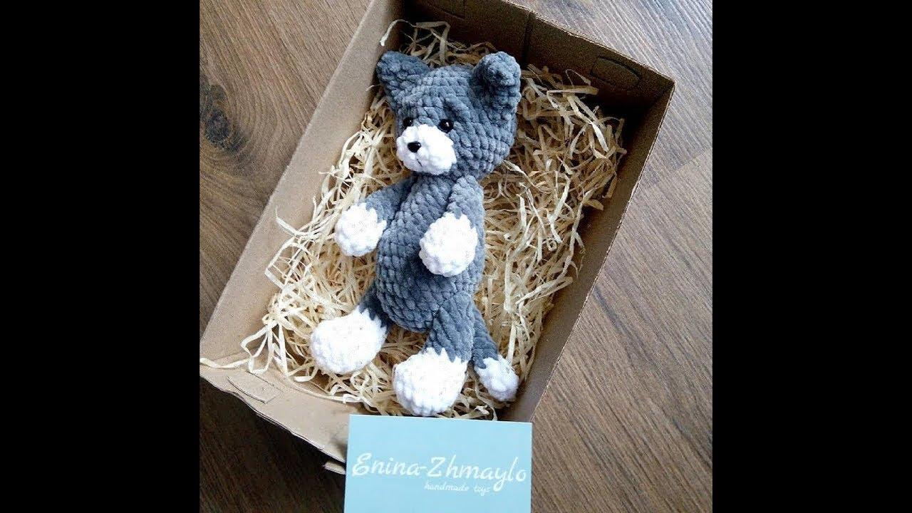 Gatto nella Tazza Amigurumi Tutorial - Cat in the Cup Crochet ... | 720x1280