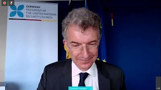 Germany & Belgium on Syria - Security Council Virtual Media Stakeout (11 July 2020)