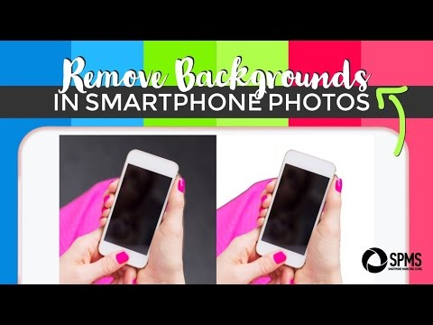 Remove The Background Of A Picture With Just Your Iphone Magic Eraser Tutorial