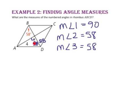 6-4: Properties of Rhombuses, Rectangles, and Squares