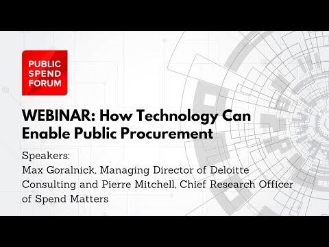 How Technology can Enable Public Procurement