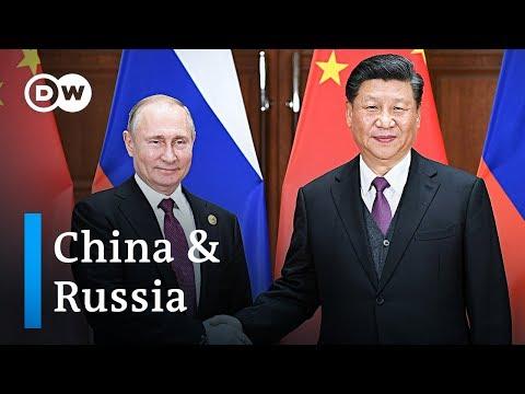 Смотреть China and Russia strengthen ties | DW News онлайн