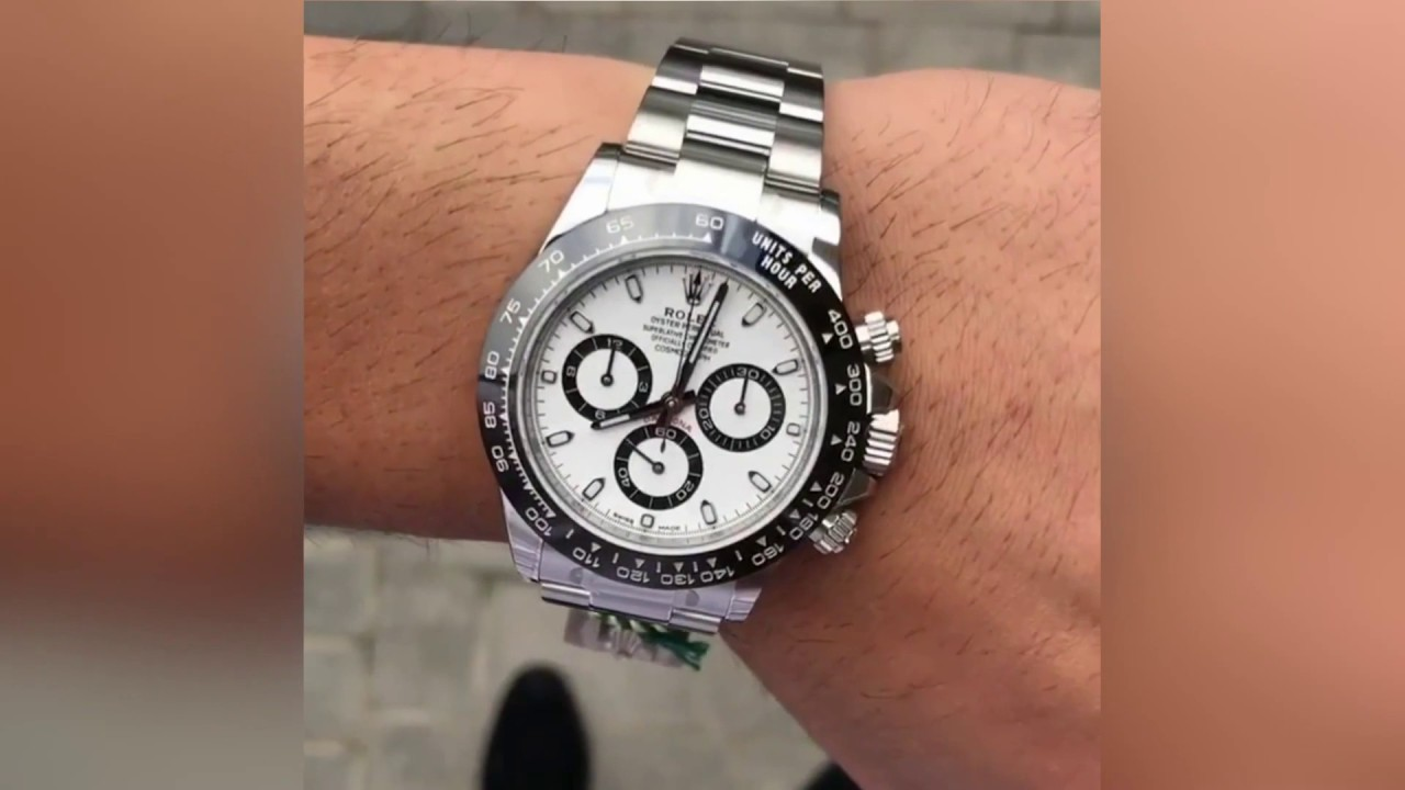 Rolex Cosmograph Daytona 116500LN White dial 40 mm Stainless Steel