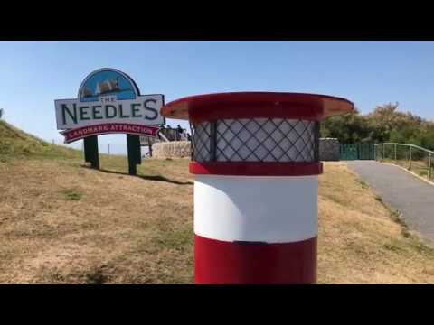 The Needles - Alum Bay Isle of Wight (IOW) Park - Chairlift - Boat Trip