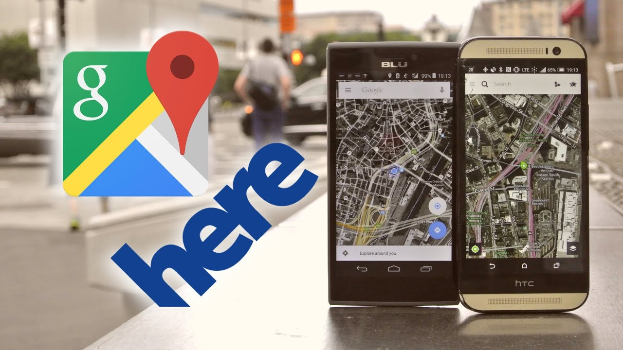 Google Maps vs  HERE Maps Quick Comparison | Pocketnow