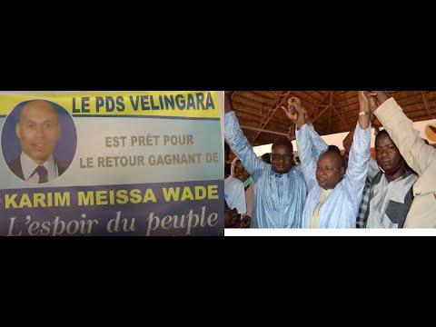 LE PDS DE VELINGARA SONNE LE RETOUR DE KARIM WADE