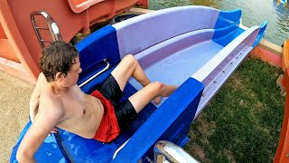 Colorful Baby Water Slides at Dino Water Park