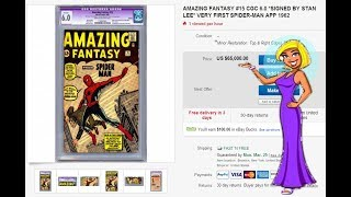 How to Quickly Find the Value of your Comic Books - Easy & Free Comic Book Pricing