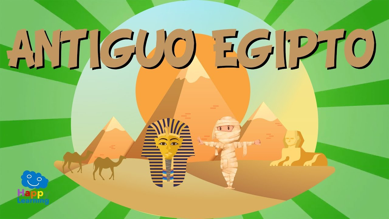 El Antiguo Egipto Vídeos Educativos Para Niños Youtube
