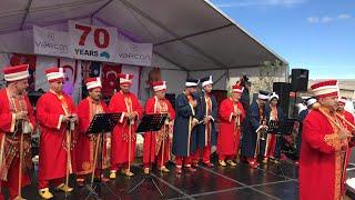 Türk festivali mehter takımı Avustralya